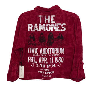 NWT DAYDREAMER Ramones California Concert Jacquard Jacket One Size